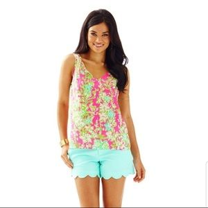 Lilly Pulitzer Cipriani Top Pink Southern Charm